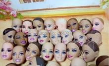 AILAIKI 20 Pcs lot Original Bald Heads For Barbies Dolls DIY Mixed Styles 1 6 Doll