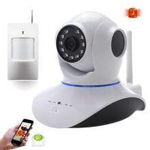Новый 720 P HD Wi-Fi Ip Беспроводная Камера с PIR Датчик главная Безопасность Камеры Наблюдения AP PnP P2P Телеметрией Ик