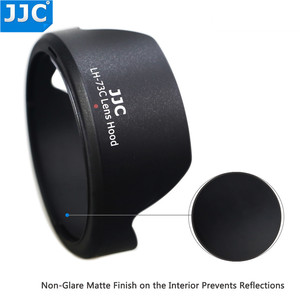 Image 4 - JJC Camera Lens Hood for Canon EF S 10 18mm f/4.5 5.6 IS STM replaces EW 73C