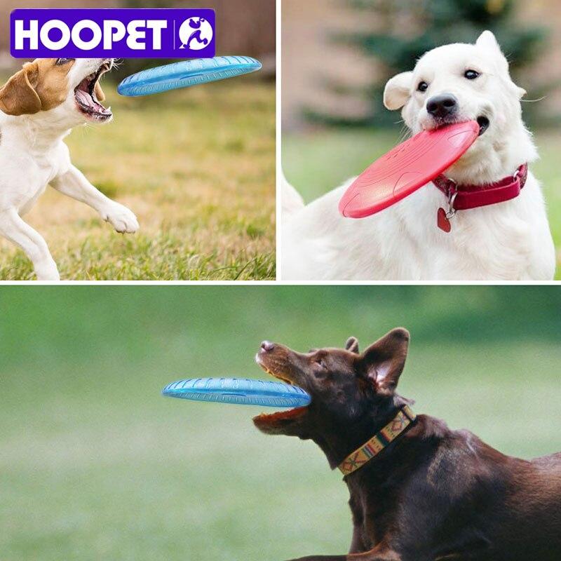 HOOPET Hund Spielzeug Knochen druck Haustier Hund Flying Disc Training Zahn Beständig Pet Spielzeug Speelgoed