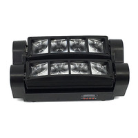 New Moving Head Light Mini Led Spider 8x10w RGBW 4in1 Beam Light Free Shipping HOT Sale