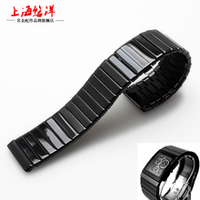 High Quality 19mm 24mm 27mm Ceramic Watchband  Replacement Ceramic Strap with stainless Steel Buckle