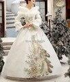 Ladies adulto para mujer pavo real de lujo snow queen cosplay traje de princesa medieval cuento de hadas vestido de fiesta / festival de halloween