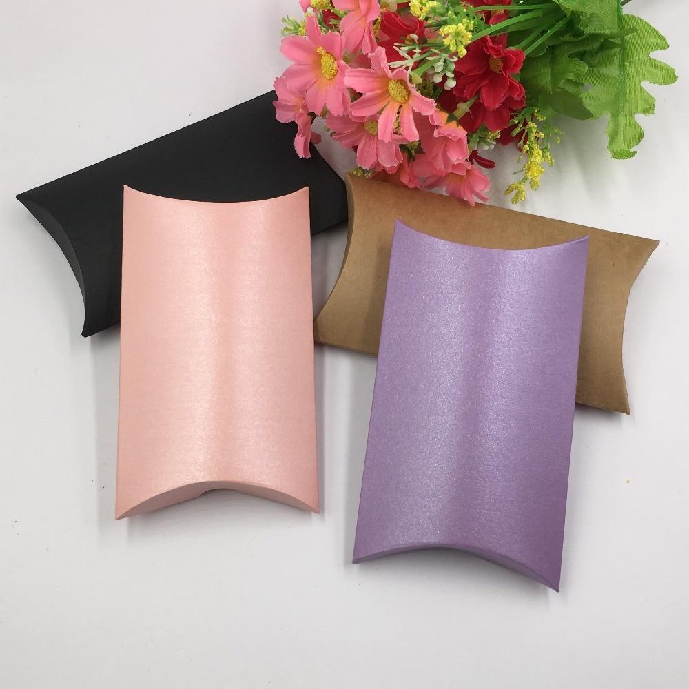 200pcs/lot High Quality Handmade Wedding Favors Custom Logo Pillow ...