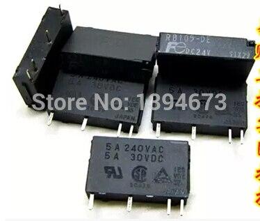 HOT NEW relay RB105-DE DC24V RB105-DE-DC24V RB105-DE RB105 24VDC FUJITSU DIP4