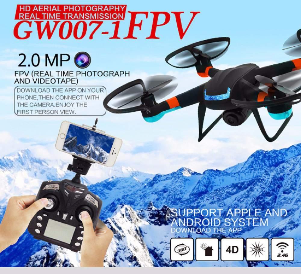 Profesional Drones puede GW007/GW007-1 DM007 de Actualización de 2.4G 4CH 6 Ejes