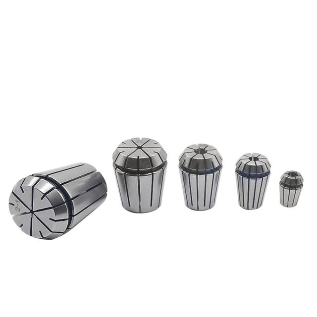 Portaherramientas para máquina de grabado CNC y torno de fresado, 1 unidad, ER20, 12,7mm, 3mm, 1/8 pulgadas (3.175mm), 4mm, 5mm, 10mm, 11mm