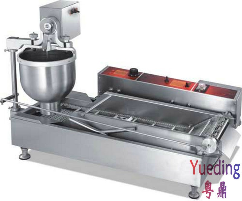 CE approved fully Automatic Donut Forming making Machine productivity 850 1200pcs hours three sizes industrial automatic donut making machines