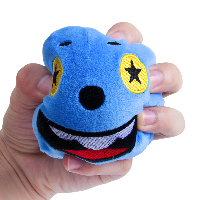 Funny Plush Face Jumbo Cute Slow Rising Toy For Kids Anti Stress Reliever Decompression Squeeze Toy