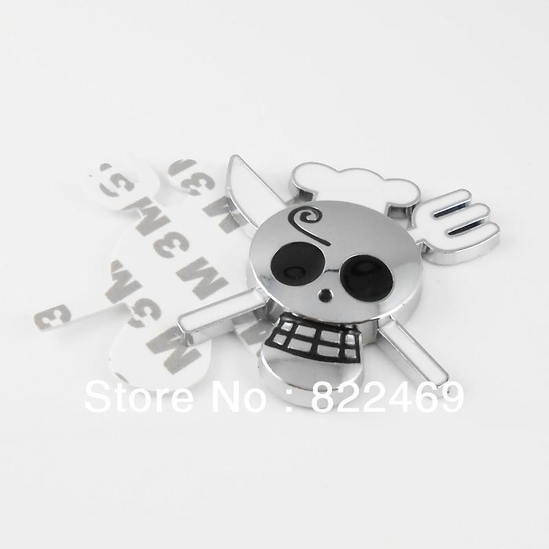 US $6 99  3D DIY Car Decal Skull Pirate Sanji Cook Sticker Emblem Badge  Logo Maker UK Flag Car Sticker For Car Auto Suv Body Decor on  Aliexpress com  