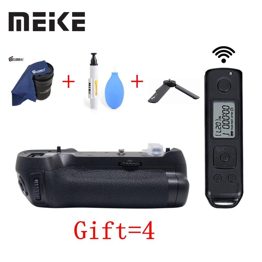 Meike MK-D850 pro tiro vertical power pack aperto da bateria com 2.4g hz controle remoto sem fio para nikon d850 câmera