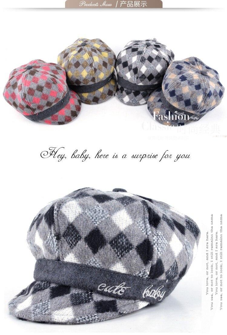 Los niños unisex del bebé del casquillo sombreros de invierno Girls ...
