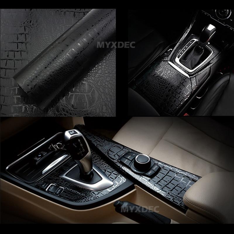 152x30 սմ 3D մեքենայի սիմուլյացիա Օձի Faux - Ավտոմեքենայի արտաքին պարագաներ - Լուսանկար 5