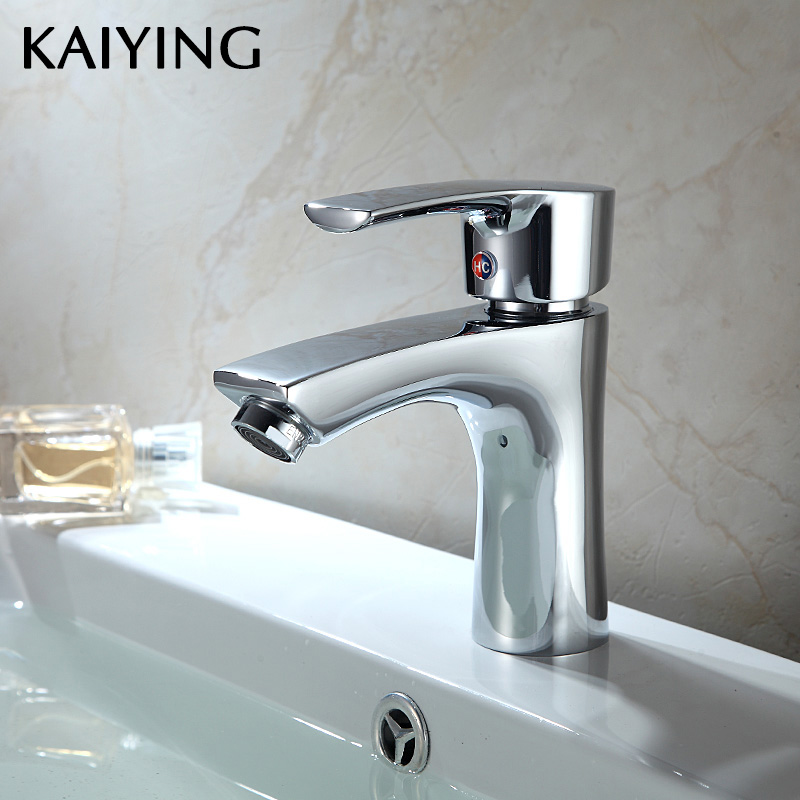 KAIYING Bathroom Faucet Deck Mounted Basin Mixer Faucet Hot and Cold Water Faucet Tap,2512KAIYING Bathroom Faucet Deck Mounted Basin Mixer Faucet Hot and Cold Water Faucet Tap,2512