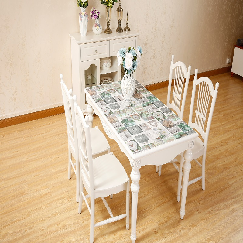 Morden Creative Tablecloth Pvc Soft Glass Waterproof Table
