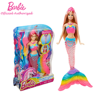 Barbie Original Brand Collection Doll Colorful Dream Series Cute Mermaid Baby Toy Barbie Boneca Mode DHC40
