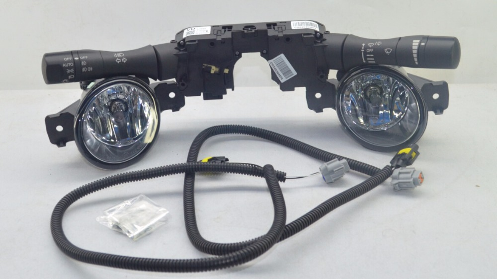 Fog Light Lamp Kit for Nissan Altima Sedan L33 with auto kit thule nissan almera 4 dr sedan 12 n17