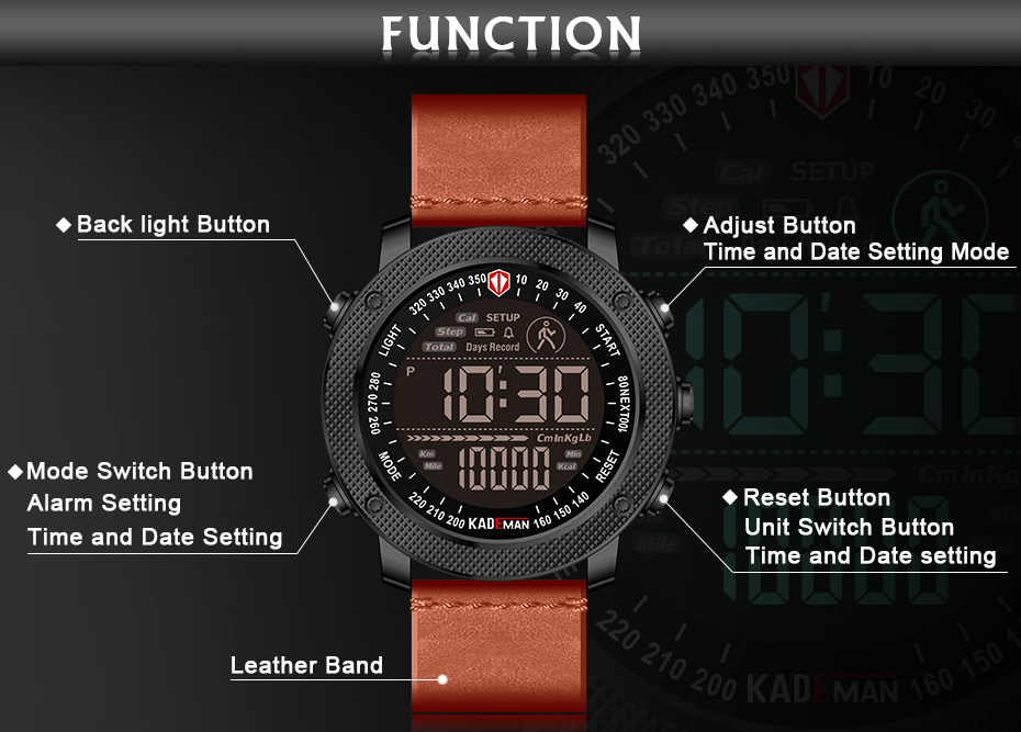 Luxury Brand Mens Sports Watches  (10)