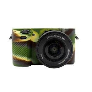 Image 5 - סיליקון שריון עור מצלמה מקרה גוף כיסוי מגן עבור Sony A6000 דיגיטלי מצלמה ILCE 6000