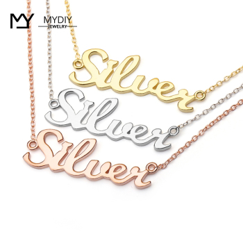 316Lstainless steel Any name custom necklace Woman pendant name custom Couple necklace personalize necklace No fading No allergy цена 2017