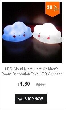 Lâmpada de brinquedo com led para crianças,