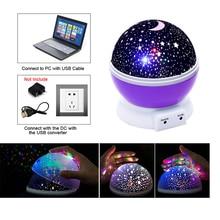 Stars Moon Sky Projector Light Up Christmas Halloween Gift Glow In The Dark Toys For Baby Kid Boy Girl Children Baby Sleeping
