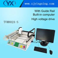 TVM802A S PCB Assembly 27 Intelligent Feeder Electronics Production Machine Pick and Place Machine Production Line For Led Lamps