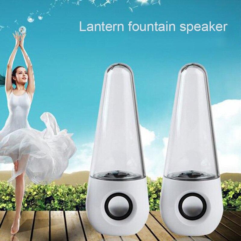 Lautsprecher Willensstark Tragbare Drahtlose Tanzen Wasser Lautsprecher Led Licht Brunnen Lautsprecher Home Party Dja99