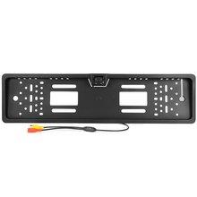 2017 Nueva Llegada 170 European Car License Plate Frame Auto Reverse de Visión trasera de Copia de seguridad de La Cámara 4 LED Universal CCD IR de Visión Nocturna