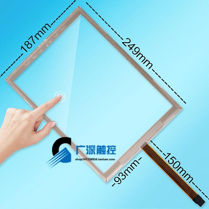 Оригинальный Новый amt2507 10.4 ''дюймовый amt9509 промышленных сенсорный экран промышленный сенсорный экран 249*187
