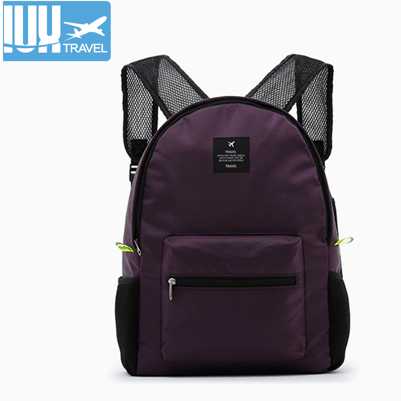 Fashion Travel Backpack Women Leisure Backpacks For Teenage Girls and boy School Bags Nylon Waterproof Folding Men Rucksack