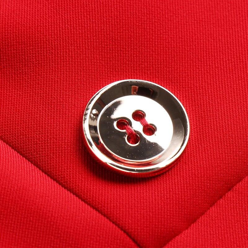 Zt2077 Partito Estate Black Coreano Ufficio Vestito Da Vestiti Delle Nero Del Vestidos Elegante Donne red Vintage Primavera 2019 J1lFcK