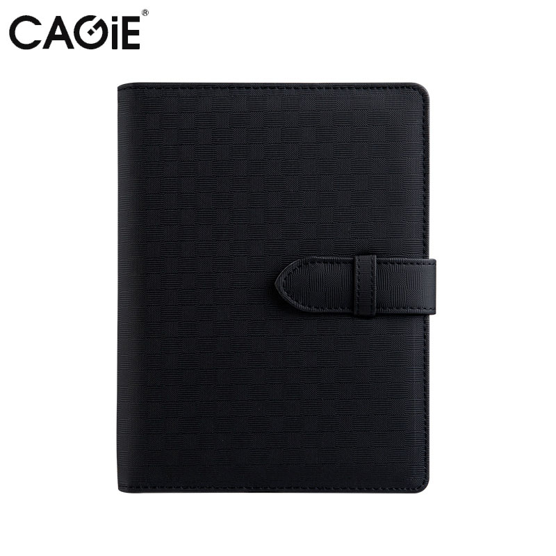 Cagie Fashion Creative Pu Leather Cover Journal Notebook Business Office Candy Colors Spiral Planner Organizer Diary Notebooks