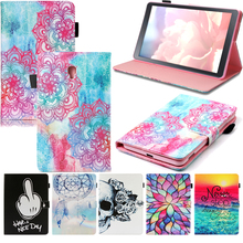 Tablet T385 T380 Funda For Samsung Galaxy Tab A 8.0 inch 2017 Fashion Mandala Leather Flip Wallet Case Cover Coque Shell Stand цена 2017