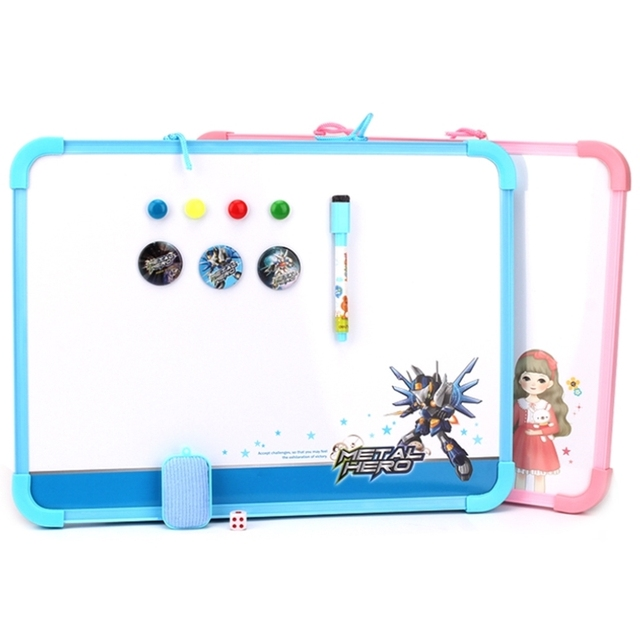 magnetic whiteboard writing flexible home decoration message small white board for kids memo pad with flight - Magnetic White Board