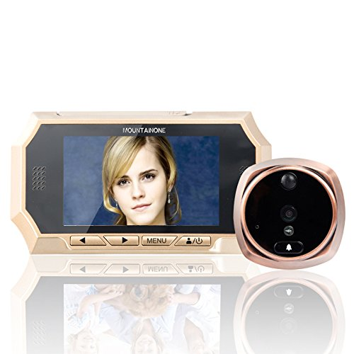 4.3 TFT LCD Screen Digital Peephole Door Viewer Camera PIR Motion Detection Doorbell 160 Degree Wide Angle IR Night Vision spta 14pcs tile carbide