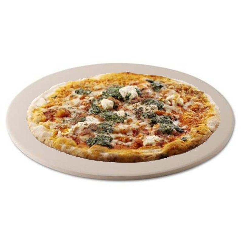 10 & 13 pouces pierre à Pizza pour La Cuisson la Cuisson Griller-13 Pouces Très Épais-Pizza Outils pour Four et grille de barbecue Ustensiles de Cuisson Cuisine