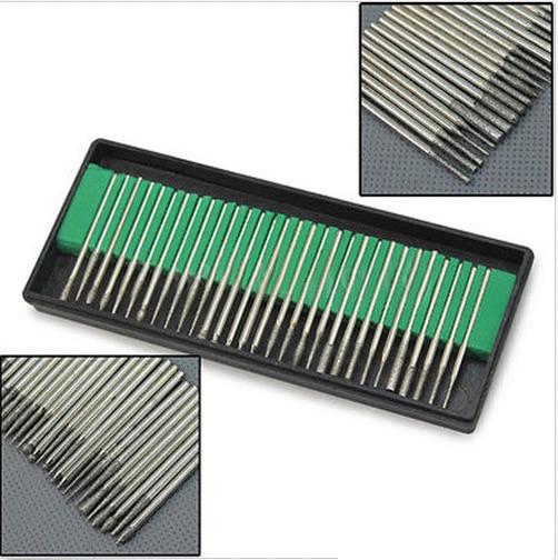 Talentool dremel utilise D3mmXL45mm 30pcs / set différentes formes - Outils abrasifs - Photo 1