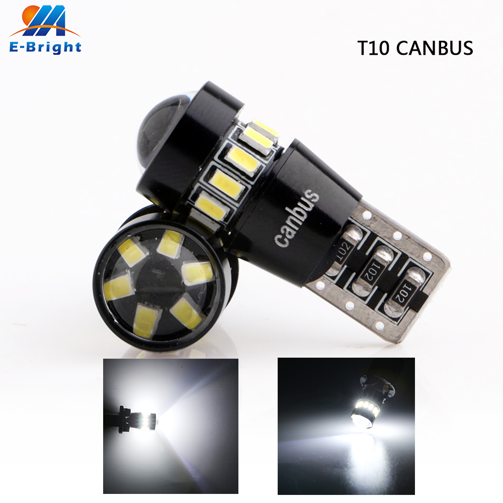4 pcs <font><b>T10</b></font> Canbus 3014 18 SMD <font><b>BL</b></font> 8000k Led Bulb NO ERROR Turn Parking Door Signal Side Maker Indicator Light Auto Car Mix Colors image