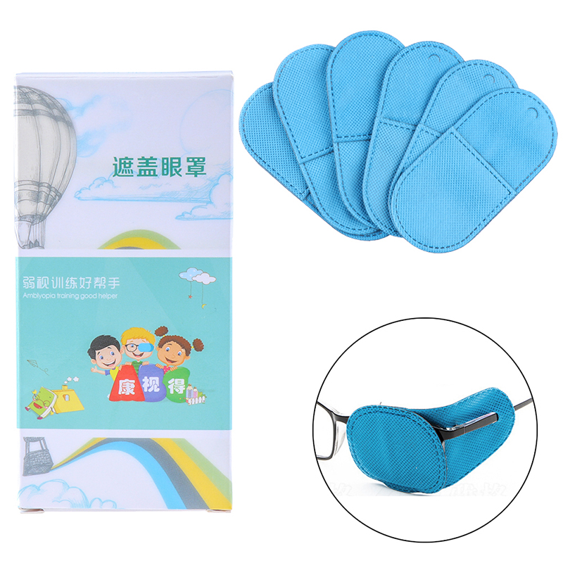 6PCS/1PCS 4Styles Child Occlusion Medical Lazy Eye Patch for Amblyopia Kids Children Drop Shipping
