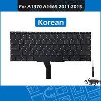 2011-2015 Ano A1370 A1465 Teclado Layout para Macbook Air 11 KR Coreano-polegada Coreano padrão Teclado de Substituição