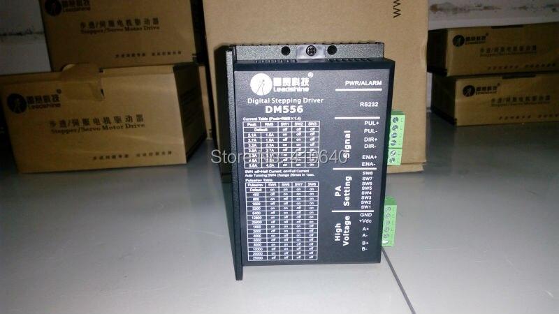Натуральная! Leadshine DM556 цифровой шагового привода Max 50 Vdc 5.6A В наличии! Бесплатная доставка!