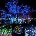 100 LED Solar String Light Fairy Light Garden Tree Decoration Party Wedding