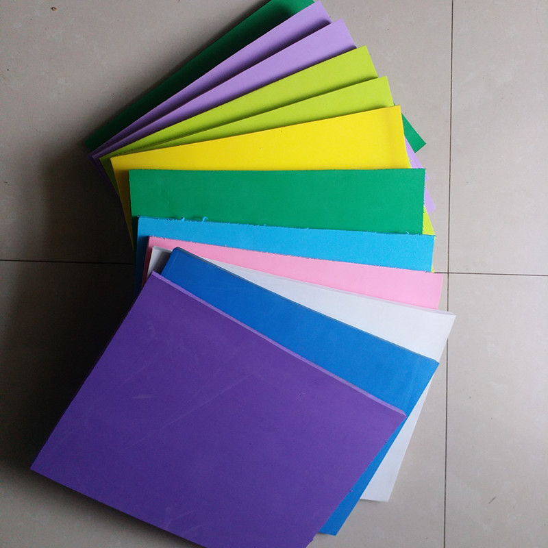 Environmentally-friendly 10mm Different Color 25*33cm Eva Foam Sheets,Craft School Projects, Easy To Cut,Handmade Material