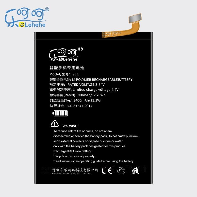 Neue LEHEHE Batterie Für ZTE Nubia Z11 Li3829T44P6h806435 NX531J Hohe Kapazität 3400 mAh Akku freies werkzeuge Geschenke
