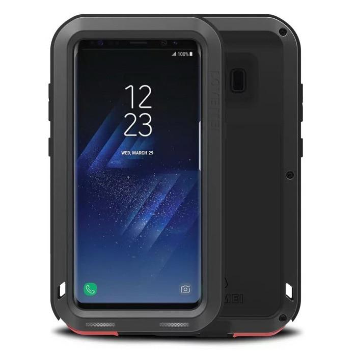 bilder für EXTREME Aluminium Wasserdichte Shockproof Schmutzfester Fall für Samsung Galaxy S8 Metallabdeckung Gehäuse