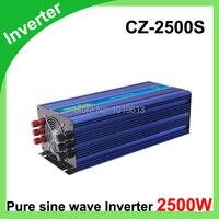 2500 Вт Мощность Инвертор Чистая синусоида 12 В постоянного тока до 220 В переменного тока конвертер автомобиль инверторы адаптер переменного т