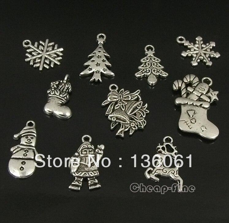 c5984ef54 خمر الثلج شجرة عيد الميلاد ثلج سحر المعلقات ل صنع المجوهرات النتائج أساور  اكسسوارات هدايا Z1805