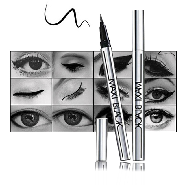 1PC Hot Ultimate Black Liquid Eyeliner Long-lasting Waterproof Eye Liner Pencil Pen Nice Makeup Cosmetic Tools