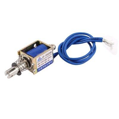 все цены на DC 12V/DC24V 300mA 4N Lift Open Frame Linear Push Type Electromagnet Solenoid JF-0520B
